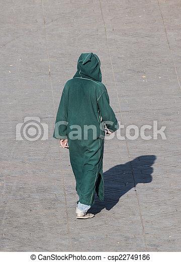 Manteau berbere homme