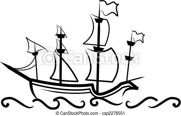 English Great Ship - csp2276551