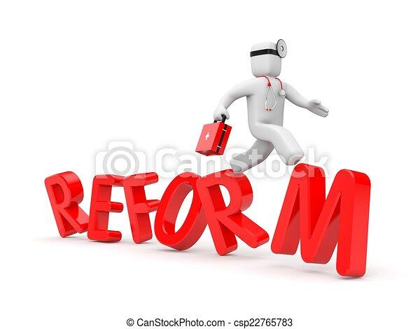 Medical reform - csp22765783