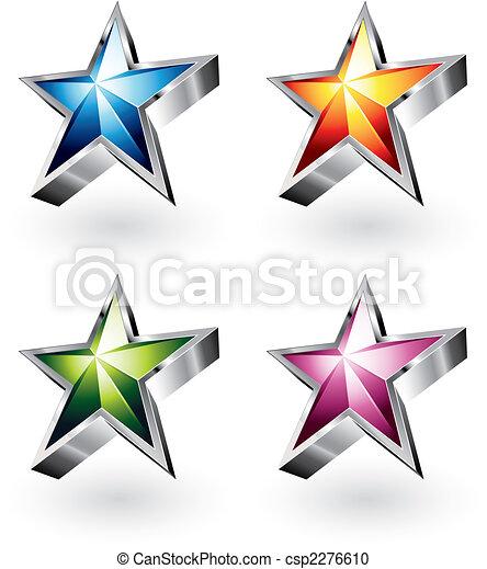 Bright Vector Star - csp2276610