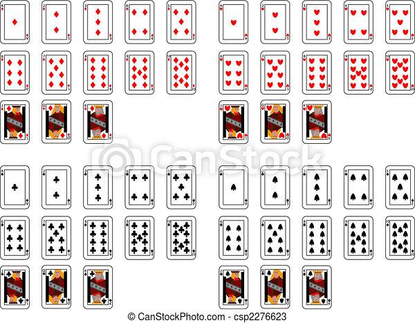 poker cards - csp2276623