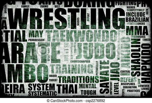 Wrestling - csp2276892