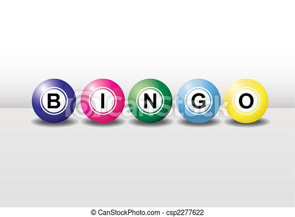 bingo balls - csp2277622