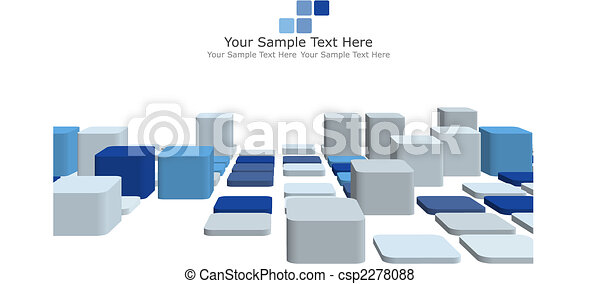 3d checked background - csp2278088