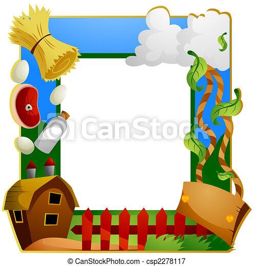 Farm Frame - csp2278117