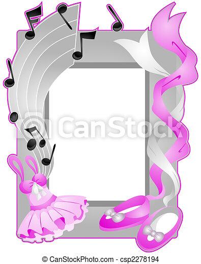 Ballet Frame - csp2278194