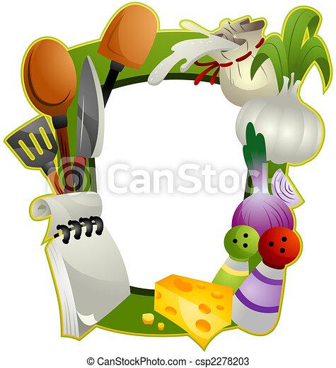 Cooking Frame - csp2278203