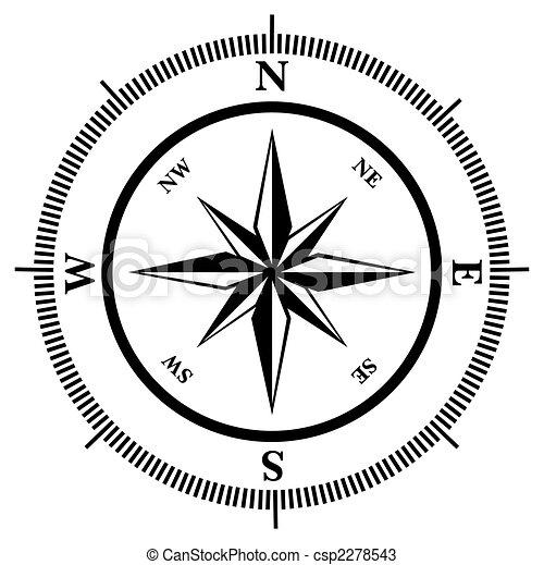 Compass rose - csp2278543