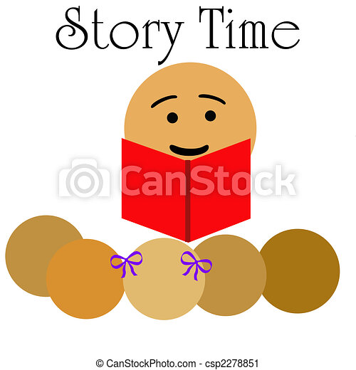 children\'s story time - csp2278851