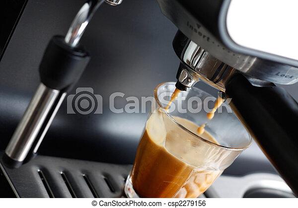 Espresso machine - csp2279156