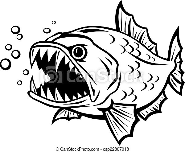 Fish Skeleton Cartoon Drawings