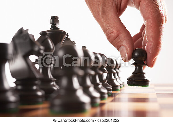 chess black player first move - csp2281222