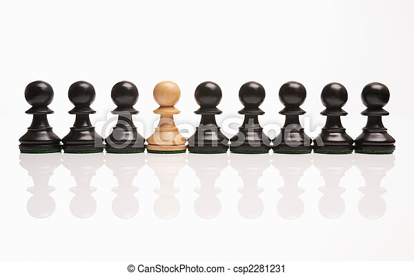 chess the odd one out  - csp2281231