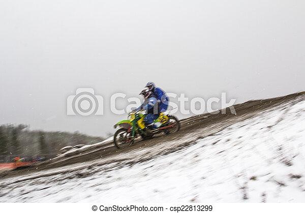 Motocross. - csp22813299