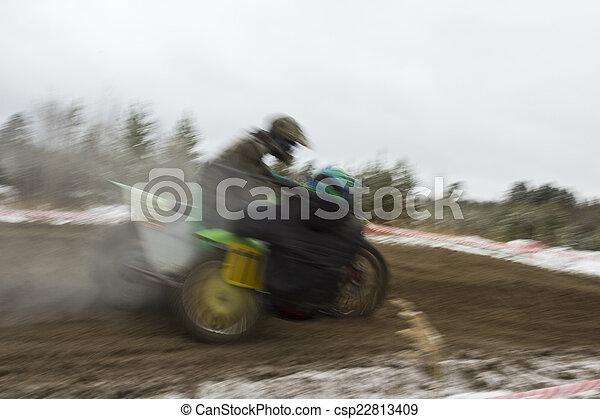 Motocross. - csp22813409