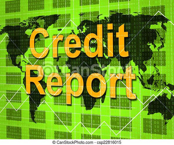 card credit report debit