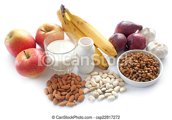 Probiotic Enriched Foods Clip Art