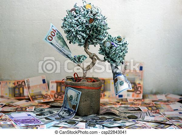 Money tree - csp22843041