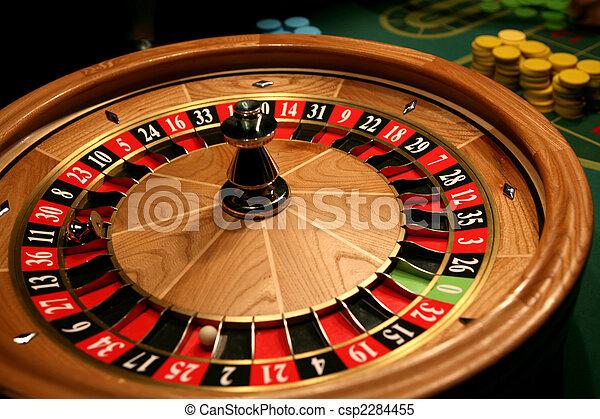 Roulette in casino - csp2284455