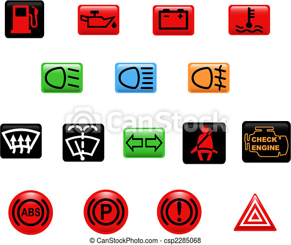 Car warning lights - csp2285068