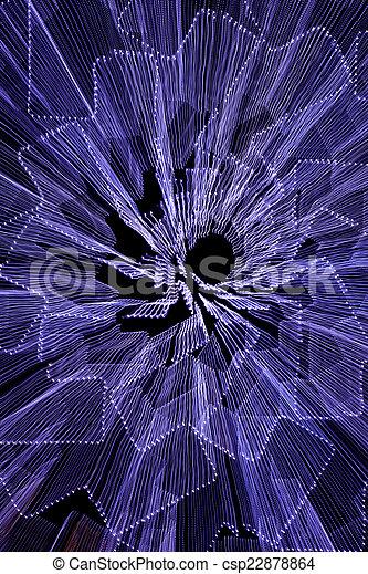 藍色, 摘要, 背景 - csp22878864