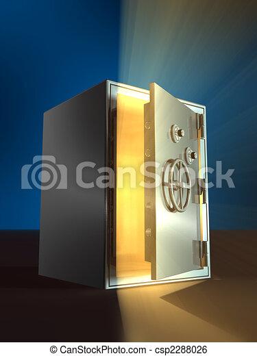 Opening safe - csp2288026