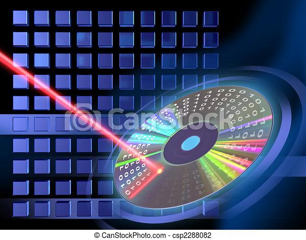Digital media writing - csp2288082