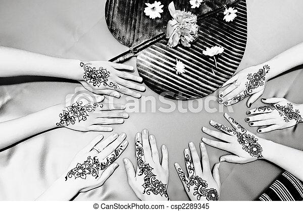 Henna Designs - csp2289345