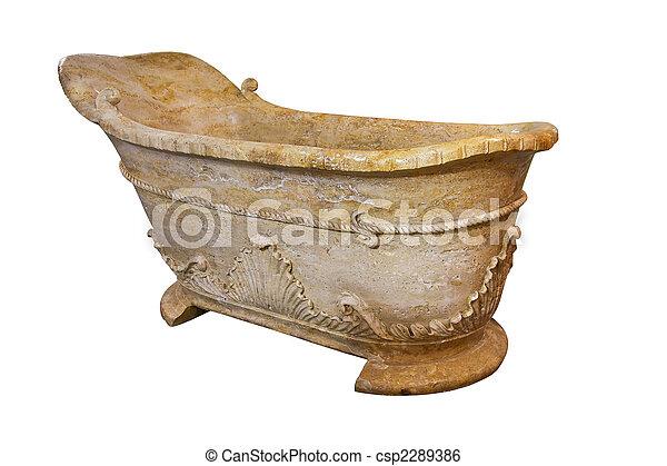 Marble bathtub - csp2289386