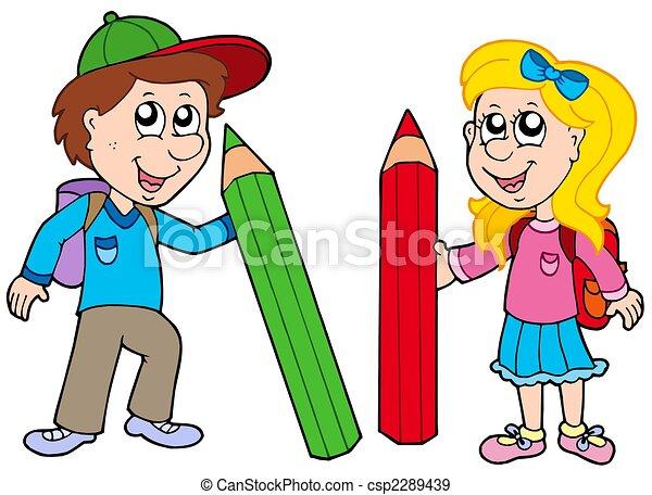 Niño y una niña - Imagui