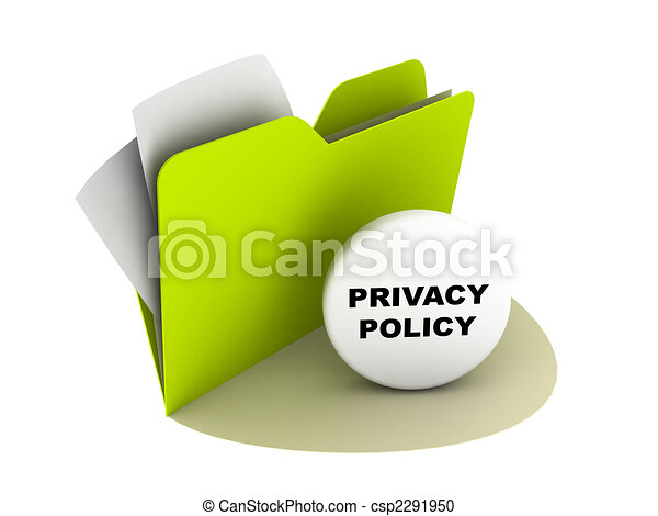 privacy policy button - csp2291950