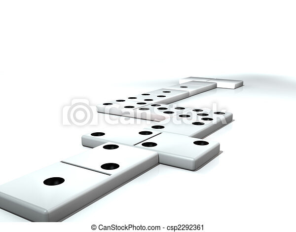 Dominoes - csp2292361