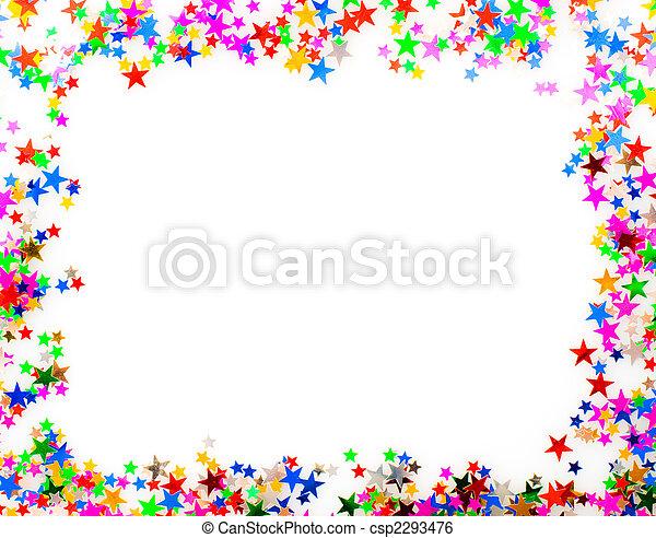 Image De Confetti Image Cadre 233 Toile Form 233 Confetti