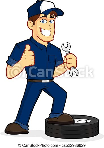 vektor illustration von auto  mechaniker clipart  bild auto mechanics clip art free auto mechanics clip art free