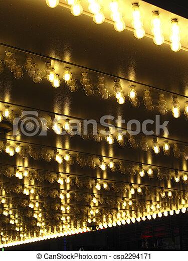 Halogen marquee lights - csp2294171