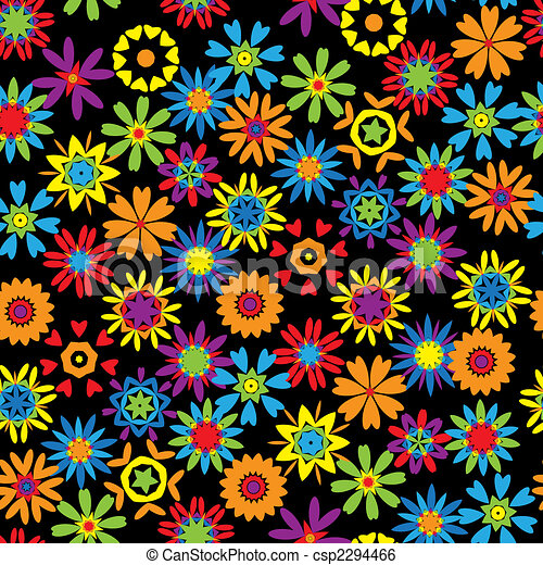 Summer background seamless for your design - csp2294466