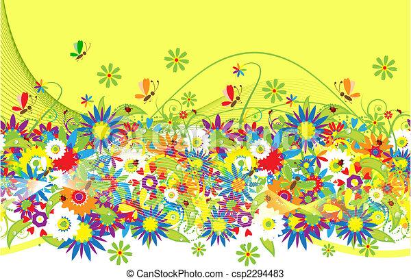 Summer background - csp2294483