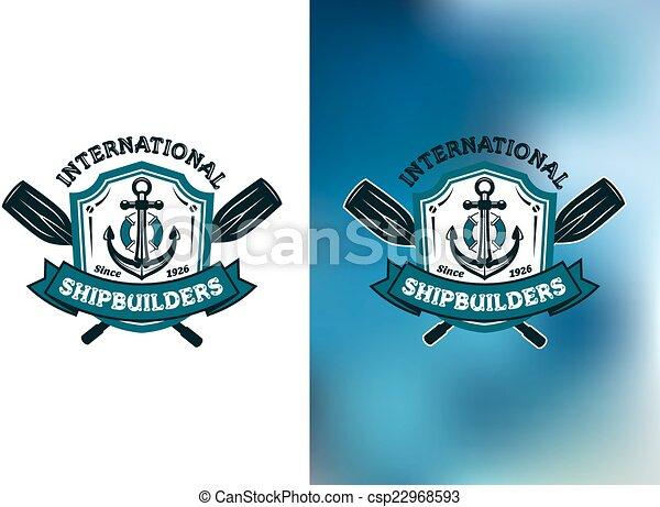Crossed Oars Logo or Logos With Crossed Oars