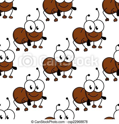 Cute Ant Logo Cute Little Cartoon Ant