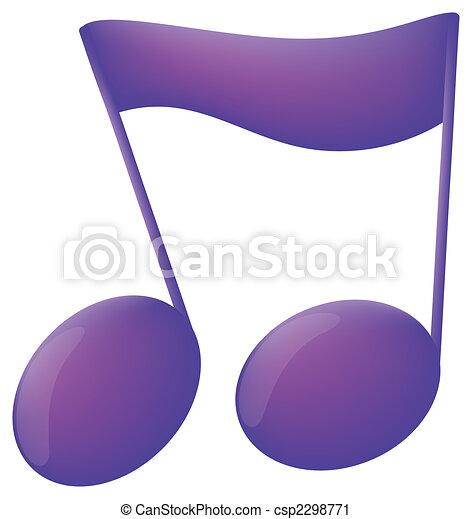 music notes - csp2298771