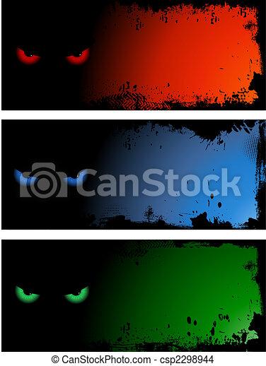 Evil eye backgrounds - csp2298944