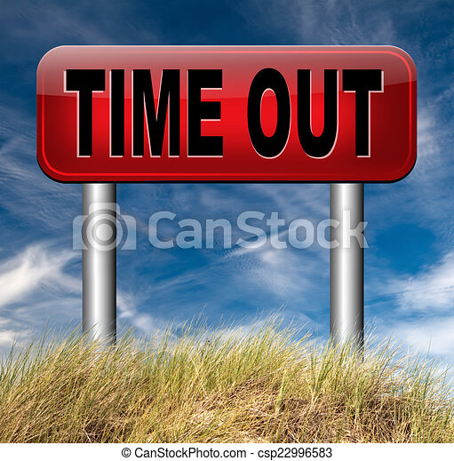 time out - csp22996583