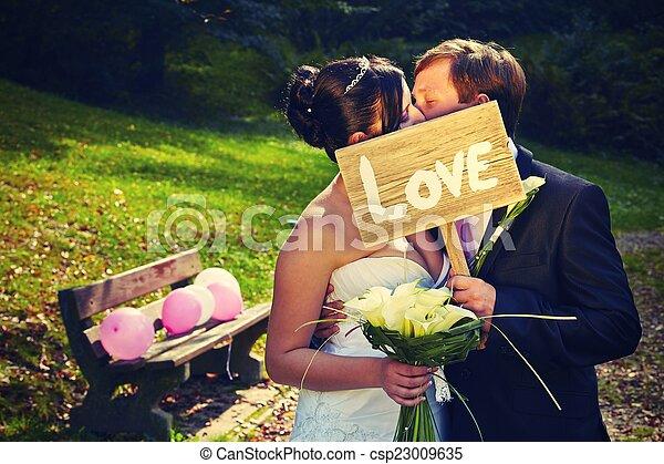 dag, bröllop - csp23009635
