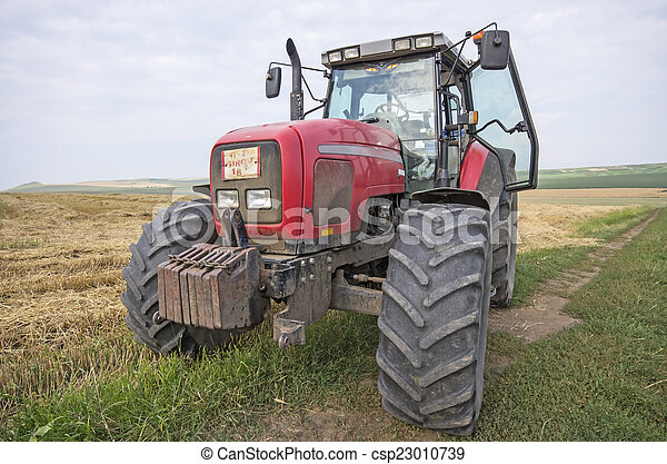 Agriculture tractor - csp23010739