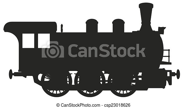 steam locomotive - csp23018626