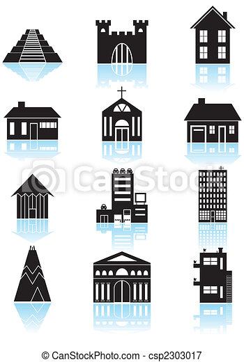 World Travel Structures Black - csp2303017