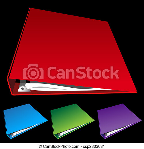 three ring binder set - csp2303031