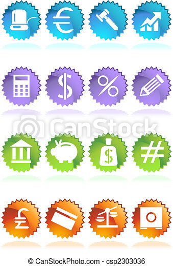 banking sticker - csp2303036