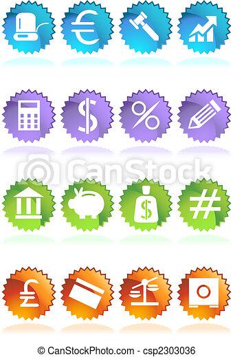 banking sticker - csp2303036