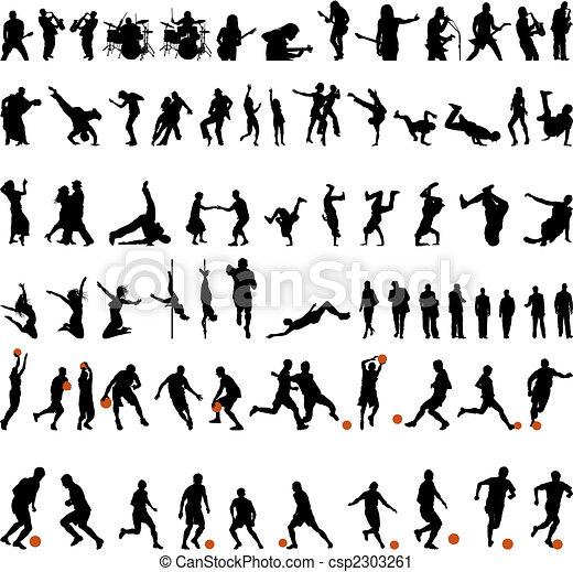 dance and sport set - csp2303261